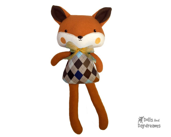 ITH Big Fox Pattern - Dolls And Daydreams - 5