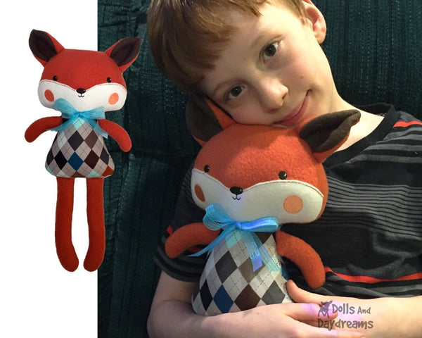 ITH Big Fox Pattern - Dolls And Daydreams - 4