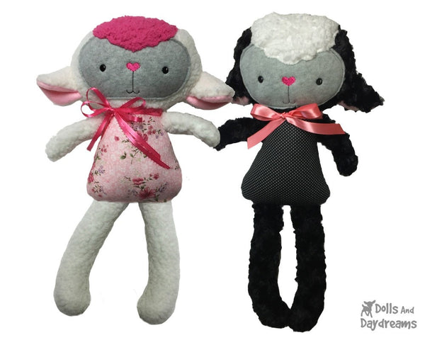 ITH Big Lamb Pattern - Dolls And Daydreams - 1