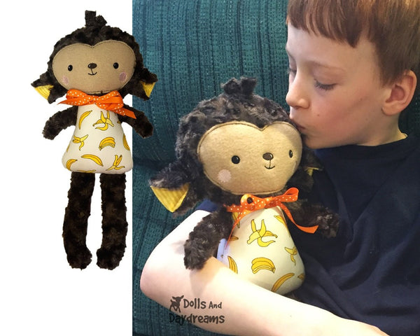 ITH Big Monkey Pattern - Dolls And Daydreams - 3
