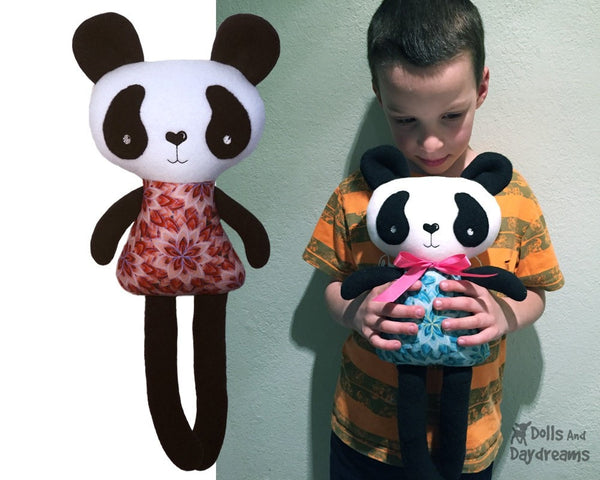 ITH Big Panda Pattern - Dolls And Daydreams - 3