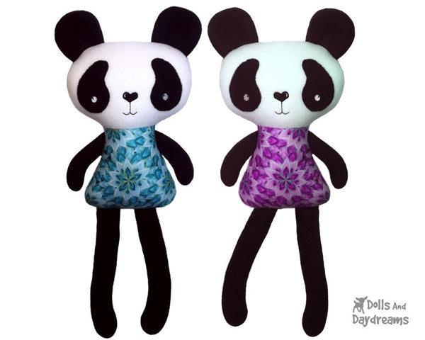 ITH Big Panda Pattern - Dolls And Daydreams - 4