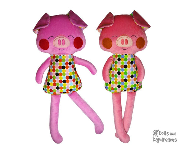 ITH Big Pig Pattern - Dolls And Daydreams - 3