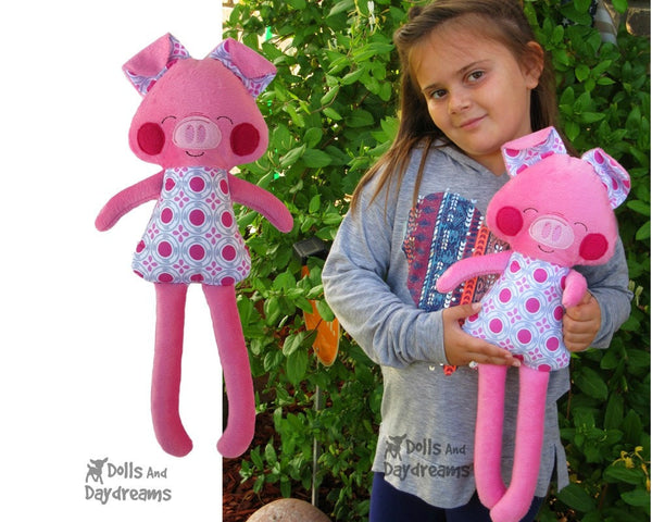 ITH Big Pig Pattern - Dolls And Daydreams - 4