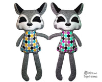 ITH Big Wolf Pattern - Dolls And Daydreams - 1