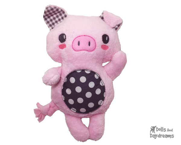 Embroidery Machine Piglet Pattern - Dolls And Daydreams - 1