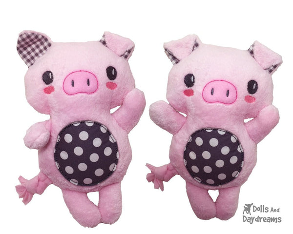 Embroidery Machine Piglet Pattern - Dolls And Daydreams - 5