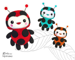 Embroidery Machine Ladybug Pattern