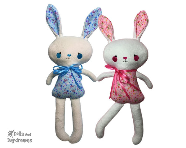 ITH Big Bunny Pattern - Dolls And Daydreams - 1
