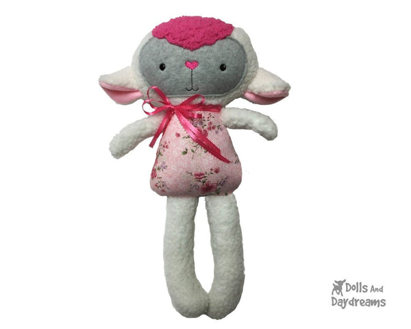 ITH Big Lamb Pattern - Dolls And Daydreams - 5