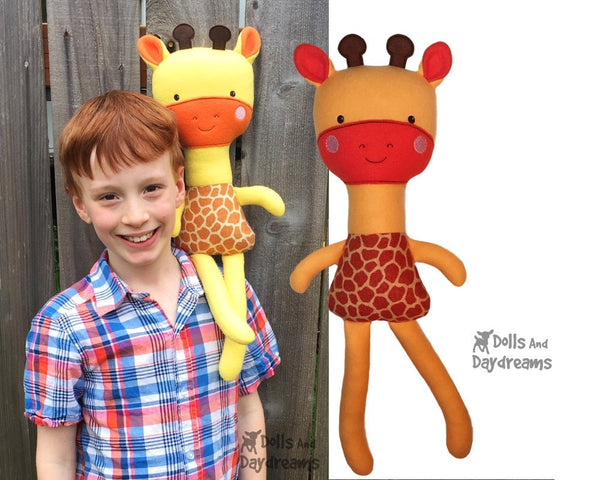 ITH Big Giraffe Pattern - Dolls And Daydreams - 4