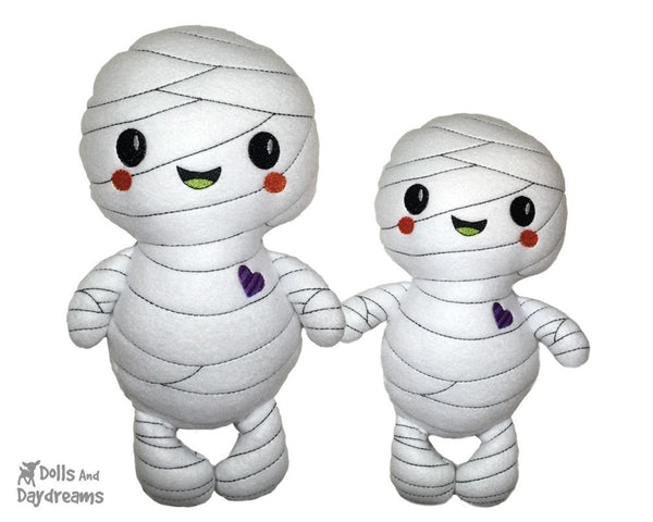 Embroidery Machine Mummy Pattern - Dolls And Daydreams - 4
