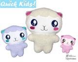 ITH Quick Kids Lamb Pattern Teach your Kids Machine Embroidery by Dolls And Daydreams