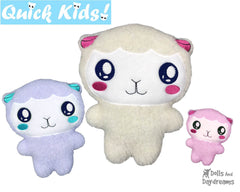 ITH Quick Kids Lamb Pattern