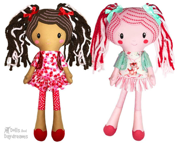 Lucy Leggings a PDF Doll Sewing Pattern by dolls and daydreams