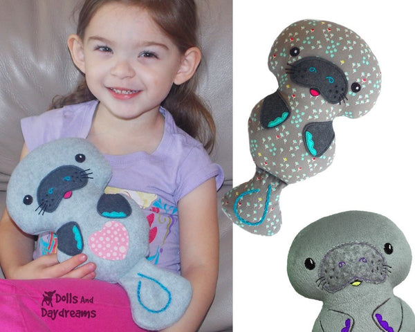 Manatee Sewing Pattern - Dolls And Daydreams - 5