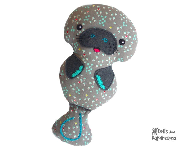 Manatee Sewing Pattern - Dolls And Daydreams - 4