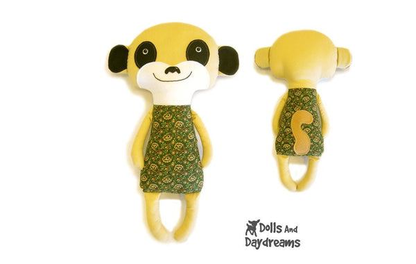 Meerkat Sewing Pattern - Dolls And Daydreams - 2
