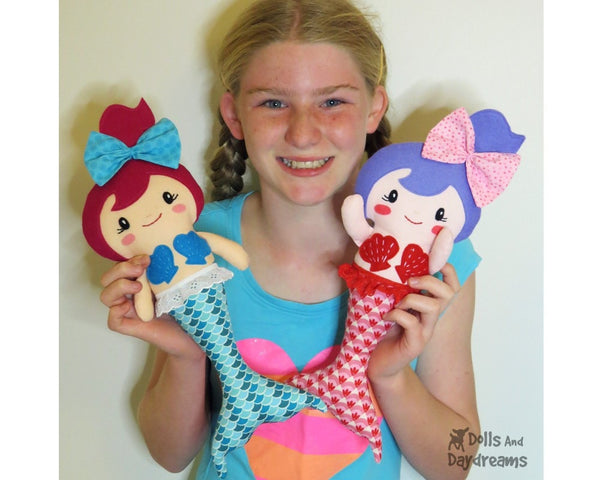 Merbabies Sewing Pattern - Dolls And Daydreams - 4