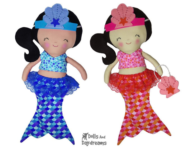 Mermaid Tail Sets Sewing Pattern - Dolls And Daydreams - 3