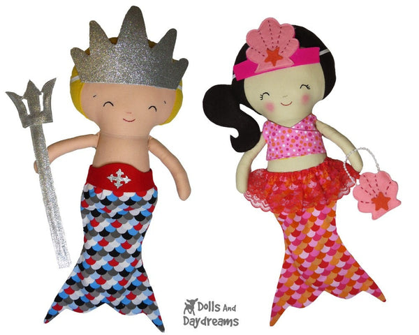 Mermaid Tail Sets Sewing Pattern - Dolls And Daydreams - 4