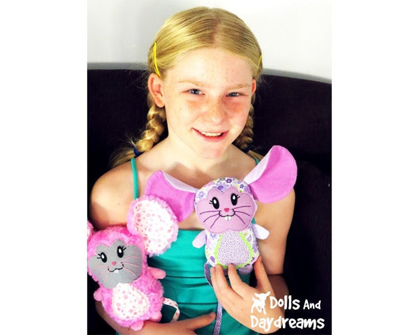 Mouse Sewing Pattern - Dolls And Daydreams - 4