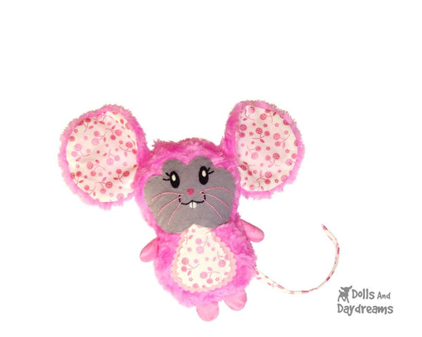 Mouse Sewing Pattern - Dolls And Daydreams - 3