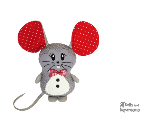 Mouse Sewing Pattern - Dolls And Daydreams - 2