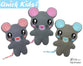 Quick Kids Mouse Sewing Pattern