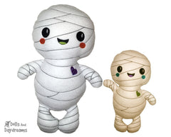 Embroidery Machine Mummy Pattern
