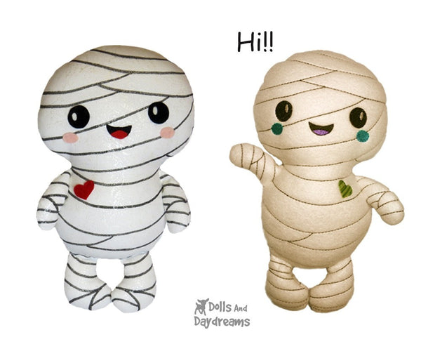 Mummy Sewing Pattern - Dolls And Daydreams - 5