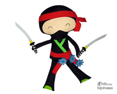 Ninja Sewing Pattern