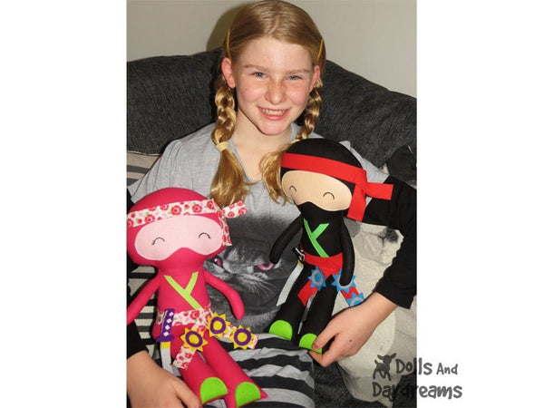 Ninja Sewing Pattern - Dolls And Daydreams - 5