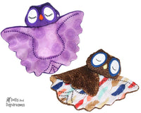 Owl Pro Grow with Me Baby Blanket Sewing Pattern by Dolls And Daydreams