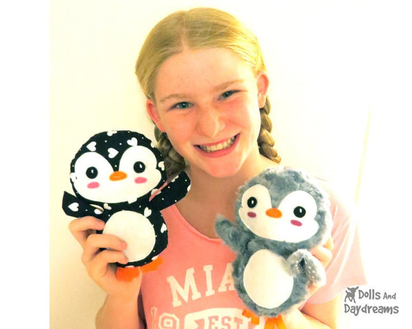 Penguin Sewing Pattern - Dolls And Daydreams - 4