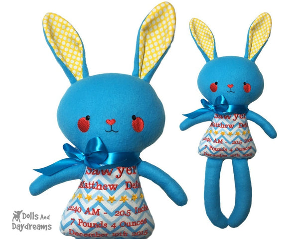 ITH Big Bunny Pattern - Dolls And Daydreams - 3