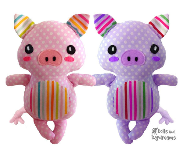 Piglet Sewing Pattern - Dolls And Daydreams - 5