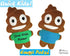 Quick Kids Poo Emoji Sewing Pattern by Dolls And Daydreams Easy DIY Soft Toy plushie