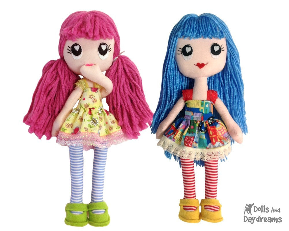 Poppy Poppet Sewing Pattern Dolls And Daydreams