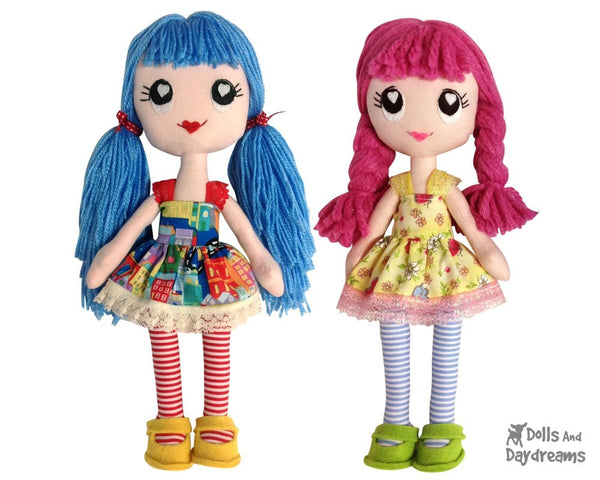 Poppy Poppet Sewing Pattern - Dolls And Daydreams - 2