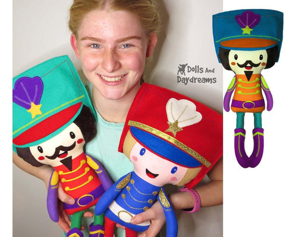 Nutcracker Prince Charming Sewing Pattern by Dolls And Daydreams