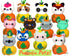 Discount ITH Quick Kids Pumpkin Pets Pattern Pack