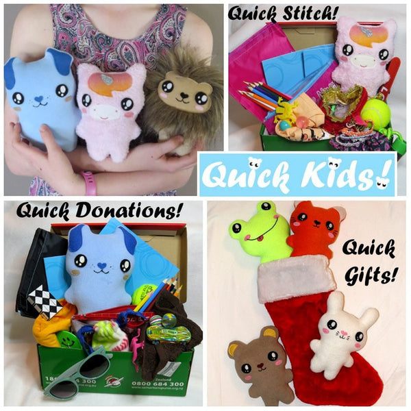 Quick Kids Wombat Sewing Pattern