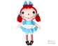 Raggedy Ann Sewing Pattern