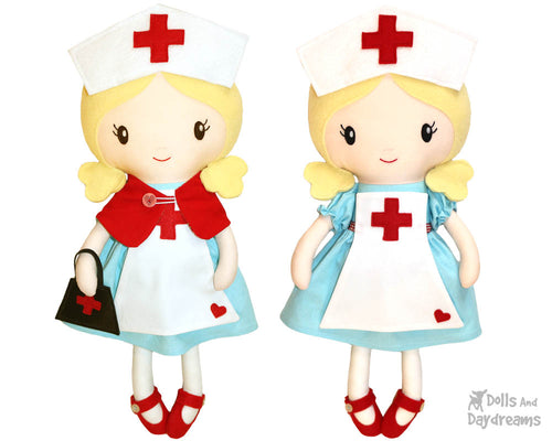 Retro Nurse Sewing Pattern