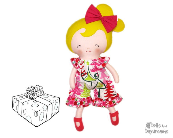 Romper Sewing Pattern - Dolls And Daydreams - 3