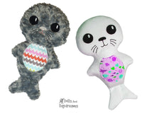 Seal Pup Sewing Pattern - Dolls And Daydreams - 1