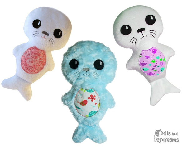 Seal Pup Sewing Pattern - Dolls And Daydreams - 3