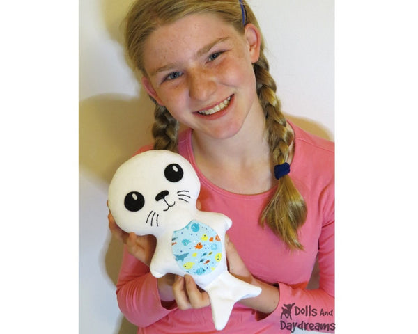 Seal Pup Sewing Pattern - Dolls And Daydreams - 4