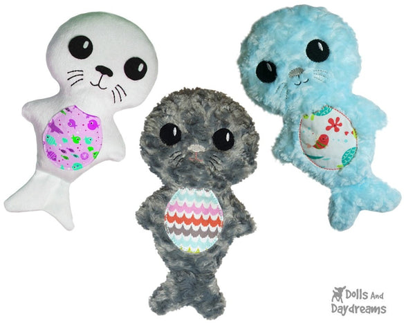 Seal Pup Sewing Pattern - Dolls And Daydreams - 5